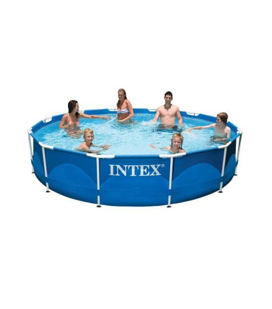 Piscina estructural armable intex 28210 6503l 366cm e for Accesorios piscinas intex