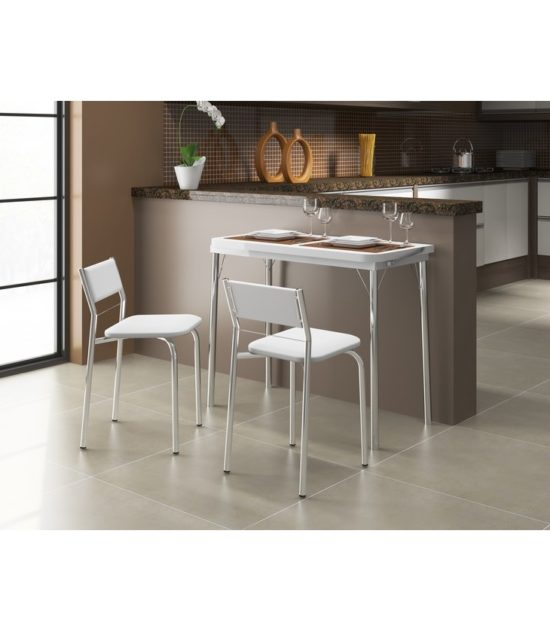Desayunador mesa extensible con patas cromadas blanco ideal cocina desayunador mesa extensible con patas cromadas blanco ideal cocina altavistaventures Image collections